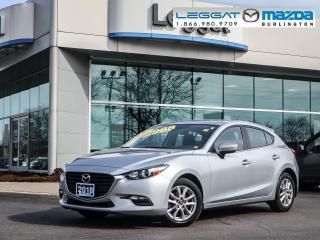 Used 2018 Mazda MAZDA3 GS- AUTOMATIC, BLUETOOTH, HEATED SEATS, ALLOY WHEELS for sale in Burlington, ON