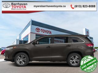 Used 2017 Toyota Highlander LE  -  Bluetooth - $219 B/W for sale in Ottawa, ON