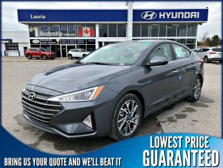 New 2020 Hyundai Elantra ULTIMATE AUTO for sale in Port Hope, ON