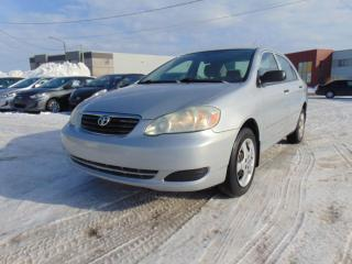 Used 2007 Toyota Corolla Berline 4 portes, boîte manuelle, CE for sale in St-Eustache, QC