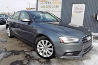 Used 2014 Audi A4 ***KOMFORT,QUATTRO,CUIR,TOIT*** for sale in Longueuil, QC