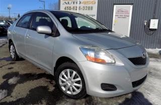 Used 2010 Toyota Yaris ***LE,BERLINE,AUTOMATIQUE,A/C,GROUPES EL for sale in Longueuil, QC