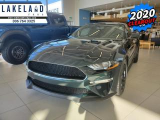 New 2020 Ford Mustang BULLITT Fastback  - $381 B/W for sale in Prince Albert, SK