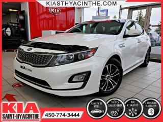 Used 2015 Kia Optima Hybrid LX * CAMÉRA DE RECUL / SIÈGES CHAUFFANTS for sale in St-Hyacinthe, QC