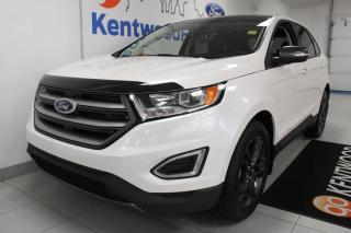 Used 2018 Ford Edge 3 Mos Deferral *oac | AWD ecoboost with NAV, sunroof, heated power seats, heated steering wheel, power liftgate, keyless entry and a back up cam for sale in Edmonton, AB
