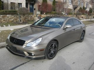 Used 2008 Mercedes-Benz CLS-Class NO ACCIDENTS, LOW KMS, CERTIFIED, LEATHER, NAVI,A1 for sale in Toronto, ON