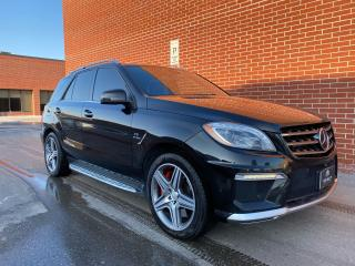 Used 2014 Mercedes-Benz M-Class ML 63 AMG for sale in Concord, ON