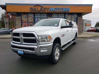 Used 2015 RAM 3500 SLT - Cummins Diesel, Heavy Duty 4X4, Crew Cab for sale in Courtenay, BC