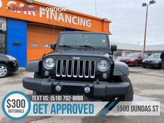 Used 2016 Jeep Wrangler Unlimited for sale in London, ON