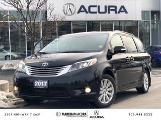 Used 2017 Toyota Sienna XLE LTD 7-Passenger V6 for sale in Markham, ON