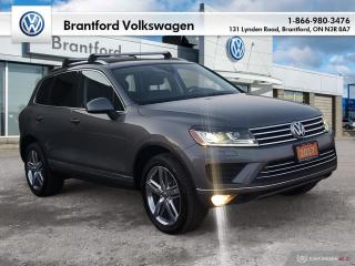 Used 2017 Volkswagen Touareg Execline 3.6L 8sp at w/Tip 4M for sale in Brantford, ON