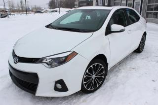 Used 2015 Toyota Corolla 4dr Sdn CVT S for sale in Laval, QC