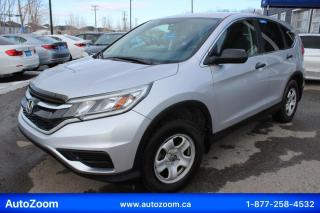 Used 2016 Honda CR-V LX**OUVERT** PROPRE ET SECURITAIRE !! for sale in Laval, QC