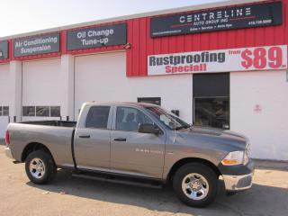 Used 2012 RAM 1500 ST $11,995+HST+LIC FEE / CERTIFIED / CLEAN CARFAX REPORT / HEMI for sale in North York, ON