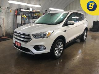 Used 2017 Ford Escape Titanium 4WD * Navigation * Sunroof * Leather * Power Lift-Gate * Remote start * Reverse camera with parking aid * Blindspot assist *  Heated front se for sale in Cambridge, ON