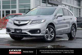 Used 2017 Acura RDX **ELITE PKG AWD** **NAVIGATION*TOIT*CAMERA RECUL*AIDE AU CONDUCTEUR* for sale in Montréal, QC