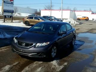 Used 2014 Honda Civic Sedan 4dr Man LX for sale in Kitchener, ON