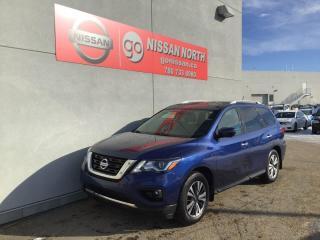Used 2018 Nissan Pathfinder SL Premium 4dr 4WD Sport Utility for sale in Edmonton, AB