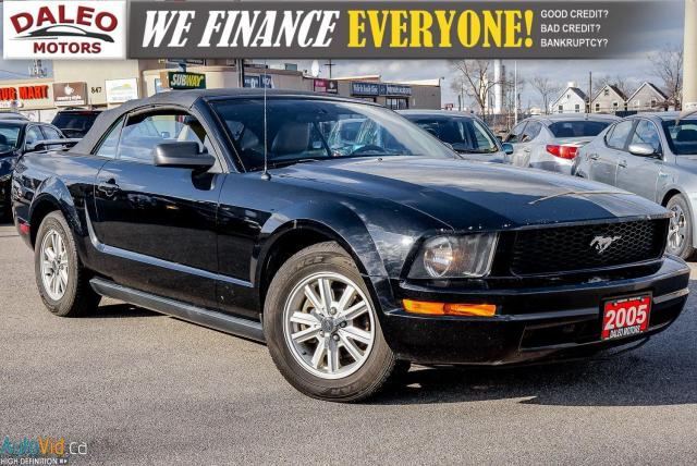 2005 Ford Mustang | CONVERTIBLE | LEATHER | KEYLESS ENTRY | |