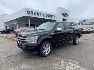 New 2020 Ford F-150 PLATINUM for sale in Brantford, ON