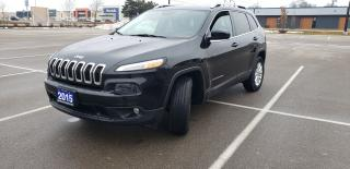 Used 2015 Jeep Cherokee NORTH 4X4 V6 for sale in Cambridge, ON