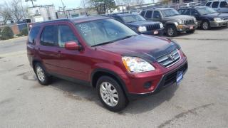 Used 2005 Honda CR-V EXL, AWD, Leather,roof,Auto, 3/Y warranty availa for sale in Toronto, ON