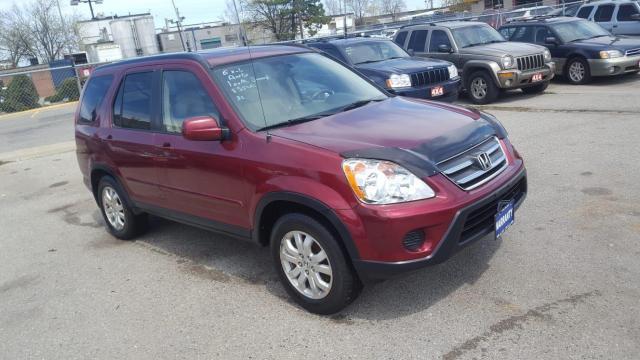2005 Honda CR-V EXL, AWD, Leather,roof,Auto, 3/Y warranty availa