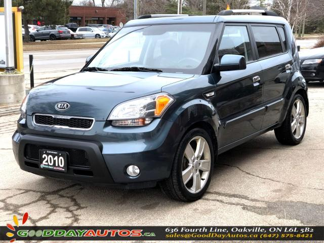 2010 Kia Soul 4U|NO ACCIDENT|SUNROOF|BLUETOOTH|CERTIFIED