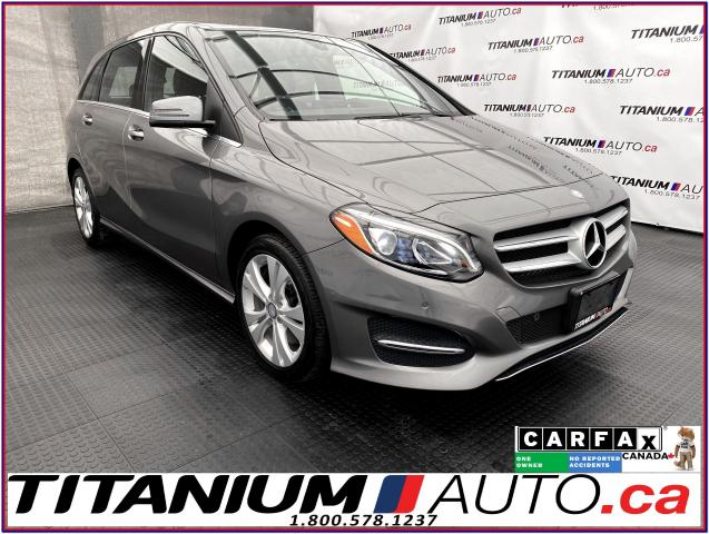 2016 Mercedes-Benz B-Class 4Matic+GPS+Camera+Pano Roof+Blind Spot+LED Lights+