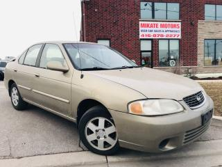Used 2001 Nissan Sentra XE for sale in Rexdale, ON