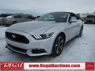 Used 2016 Ford MUSTANG BASE 2D CONVERTIBLE 3.7L for sale in Calgary, AB