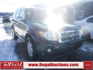 Used 2011 Ford Escape 4D Utility for sale in Calgary, AB