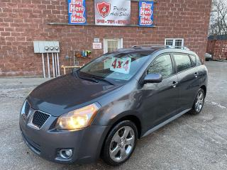 Used 2009 Pontiac Vibe TOYOTA/4WD/2.2L/REDUCED/SAFETY INCLUDED for sale in Cambridge, ON