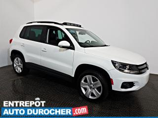 Used 2016 Volkswagen Tiguan AWD Comfortline TOIT OUVRANT A/C Sièges Chauffants for sale in Laval, QC