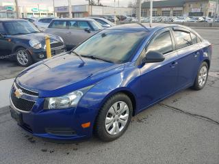 Used 2012 Chevrolet Cruze ***EXCELLENT CONDITION/ONLY 136000 KMS*** for sale in Hamilton, ON