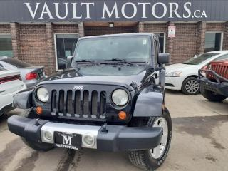 Used 2008 Jeep Wrangler 4WD 4dr Unlimited Sahara for sale in Brampton, ON