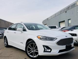 Used 2019 Ford Fusion Hybrid |COOLING SEATS|NAVIGATION| LEATHER|MEMORY SEAT|SUN ROOF! for sale in Brampton, ON