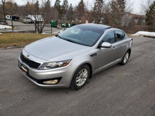 Used 2012 Kia Optima 4dr Sdn for sale in Mississauga, ON