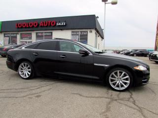 Used 2013 Jaguar XJ -Series XJ 3.0L AWD NAVI CAMERA MASSAGE SEATS CERTIFIED for sale in Milton, ON