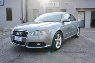 Used 2008 Audi A4 3.2 QUATTRO S LINE, FANTASTIC CONDITION, ACCIDENT AND CLAIMS FREE! for sale in Burlington, ON