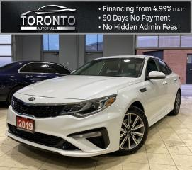 Used 2019 Kia Optima LX Back-Up Camera Bluetooth Heated Steering Heated Seats for sale in North York, ON