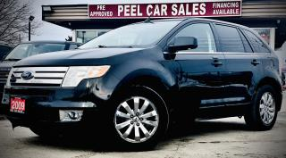 Used 2009 Ford Edge LIMITED|CERTIFIED| SUNROOF|TRACTION CONTROL| LIMITED | ALLOYS| for sale in Guelph, ON