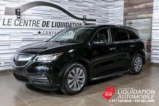 Used 2016 Acura MDX NAV PKG+MAGS+TOIT+AWD+CUIR+BLUETHOOT for sale in Laval, QC