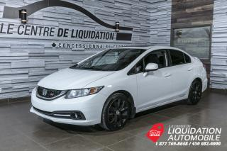 Used 2013 Honda Civic Si+JANTES+TOIT OUVRANT+CAMERA+BLUETOOTH for sale in Laval, QC