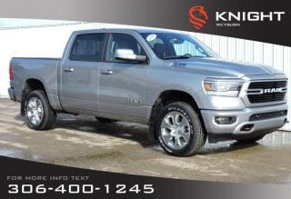 New 2020 RAM 1500 Big Horn Sport Crew Cab 4x4 HEMI | Heated Seats/Steering Wheel | NAV | Back-up Camera | Remote Start for sale in Weyburn, SK