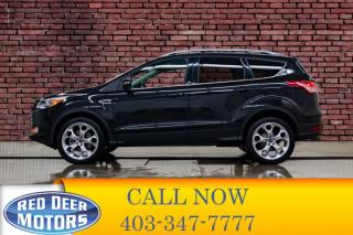 Used 2013 Ford Escape AWD Titanium Leather Roof Nav for sale in Red Deer, AB