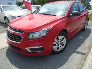 Used 2016 Chevrolet Cruze LS LOWWW KMS!!! for sale in Ottawa, ON