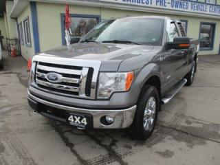 Used 2011 Ford F-150 GREAT KM'S XLT MODEL 6 PASSENGER 3.5L - V6.. 4X4.. EXTENDED-CAB.. SHORTY.. SYNC TECHNOLOGY.. TOW SUPPORT.. KEYLESS ENTRY.. for sale in Bradford, ON