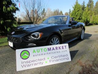 Used 2017 Fiat 124 Spider LUSSO, AUTO, NAVI, INSP, BCAA MBSHP, FINANCE & WARRANTY for sale in Surrey, BC