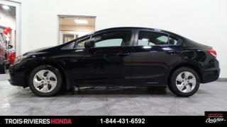Used 2015 Honda Civic LX + GARANTIE + BLUETOOTH ! for sale in Trois-Rivières, QC